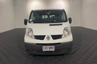 2014 Renault Trafic X83 Phase 3 Low Roof LWB White 6 speed Manual Van.