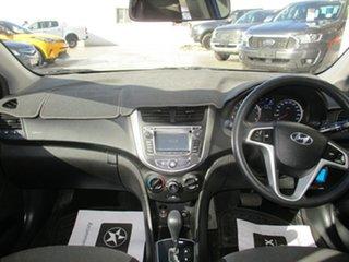 2013 Hyundai Accent RB Active Blue 4 Speed Automatic Sedan