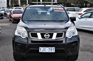 2013 Nissan X-Trail T31 Series V ST 2WD Black 6 Speed Manual Wagon.