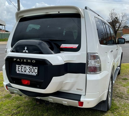 Used Mitsubishi Pajero Cobram, 2019 Mitsubishi Pajero White Automatic Wagon