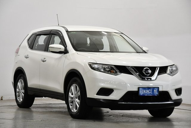 Used Nissan X-Trail T32 ST X-tronic 4WD Victoria Park, 2014 Nissan X-Trail T32 ST X-tronic 4WD White 7 Speed Constant Variable Wagon