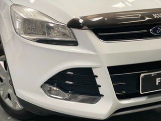 2013 Ford Kuga TF Ambiente AWD Frozen White 6 Speed Sports Automatic Wagon.