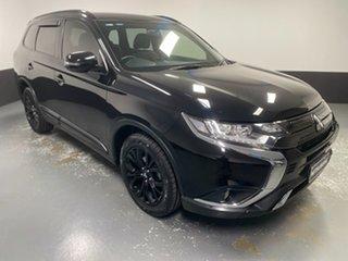 2018 Mitsubishi Outlander ZL MY19 Black Edition 2WD Black 6 Speed Constant Variable Wagon.