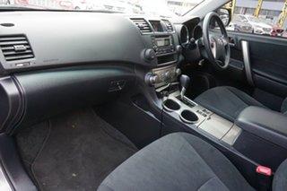 2012 Toyota Kluger GSU45R MY12 KX-R AWD Grey 5 Speed Sports Automatic Wagon
