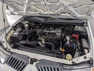 2007 Mitsubishi Triton ML MY08 GLX-R Double Cab White 5 Speed Manual Utility
