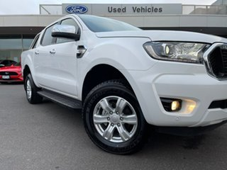 2021 Ford Ranger PX MkIII 2021.25MY XLT White 6 Speed Sports Automatic Super Cab Pick Up.
