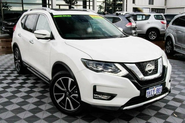Used Nissan X-Trail T32 MY21 Ti X-tronic 4WD Attadale, 2021 Nissan X-Trail T32 MY21 Ti X-tronic 4WD White 7 Speed Constant Variable Wagon
