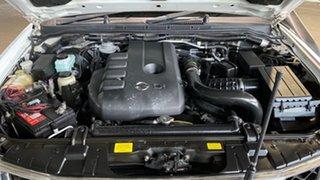 2006 Nissan Navara D40 ST-X White 5 Speed Automatic Utility