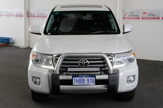2015 Toyota Landcruiser VDJ200R MY13 VX (4x4) Crystal Pearl 6 Speed Automatic Wagon.