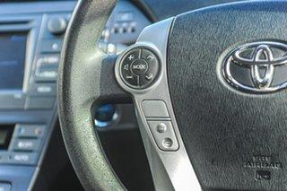 2012 Toyota Prius ZVW30R White 1 Speed Constant Variable Liftback Hybrid