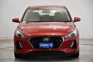 2017 Hyundai i30 PD MY18 Active Burgundy 6 Speed Sports Automatic Hatchback.