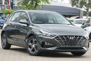 2021 Hyundai i30 PD.V4 MY21 Amazon Gray 6 Speed Automatic Hatchback.