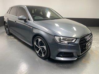 2019 Audi A3 8V MY20 35 TFSI Sportback S Tronic Grey 7 Speed Sports Automatic Dual Clutch Hatchback.