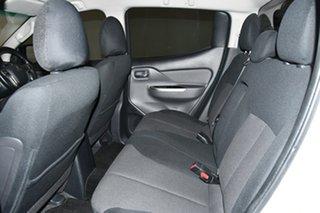 2018 Mitsubishi Triton MQ MY18 GLS Double Cab White 5 Speed Sports Automatic Utility