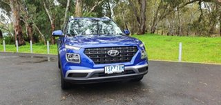 2020 Hyundai Venue QX MY20 Active Intense Blue 6 Speed Automatic Wagon.