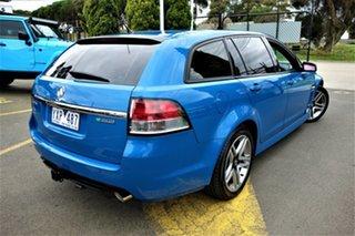 2012 Holden Commodore VE II MY12 SV6 Sportwagon Blue 6 Speed Sports Automatic Wagon.