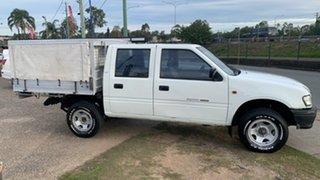 2000 Holden Rodeo TFR9 LT White 4 Speed Automatic Crew Cab Pickup