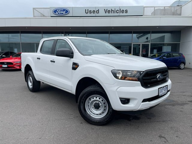 Used Ford Ranger PX MkIII 2019.00MY XL Hi-Rider Essendon Fields, 2019 Ford Ranger PX MkIII 2019.00MY XL Hi-Rider White 6 Speed Sports Automatic Double Cab Pick Up