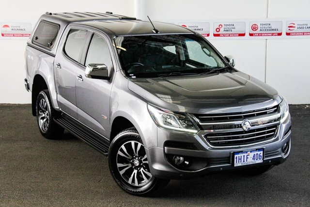 Pre-Owned Holden Colorado RG MY17 LTZ (4x4) Rockingham, 2017 Holden Colorado RG MY17 LTZ (4x4) Grey 6 Speed Automatic Crew Cab Pickup