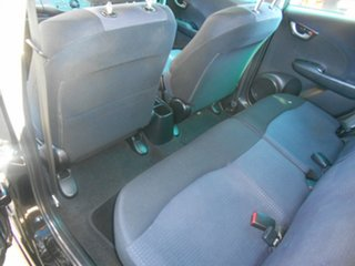 2009 Honda Jazz GE MY10 GLi Black 5 Speed Manual Hatchback