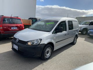 2013 Volkswagen Caddy 2K MY13 Maxi TDI250 Comfortline White 7 Speed Auto Direct Shift Wagon.