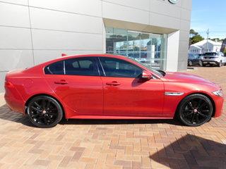 2015 Jaguar XE X760 MY16 20d R-Sport Red 8 Speed Sports Automatic Sedan.