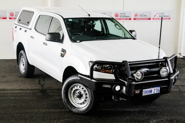 Pre-Owned Ford Ranger PX MkII MY17 XL 3.2 (4x4) Rockingham, 2017 Ford Ranger PX MkII MY17 XL 3.2 (4x4) White 6 Speed Automatic Crew Cab Utility