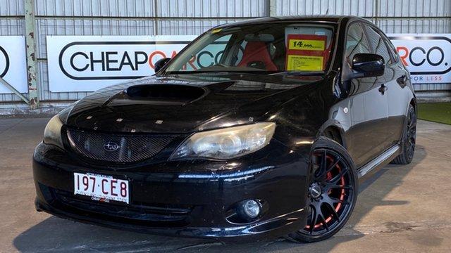 Used Subaru Impreza G3 MY08 WRX AWD Rocklea, 2007 Subaru Impreza G3 MY08 WRX AWD Black 5 Speed Manual Hatchback