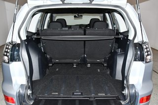 2008 Mitsubishi Outlander ZG MY09 Platinum Edition Silver 6 Speed Constant Variable Wagon