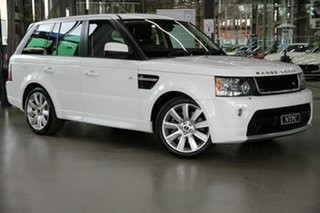 2012 Land Rover Range Rover Sport L320 12MY SDV6 Luxury White 6 Speed Sports Automatic Wagon.