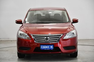 2016 Nissan Pulsar B17 Series 2 ST Cayenne Red 1 Speed Constant Variable Sedan.