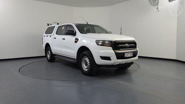 Used Ford Ranger PX MkII MY17 XL 3.2 (4x4) Altona North, 2017 Ford Ranger PX MkII MY17 XL 3.2 (4x4) White 6 Speed Automatic Crew Cab Utility