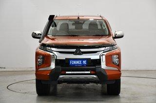2019 Mitsubishi Triton MR MY20 Toby Price Edition Double Cab Orange 6 Speed Sports Automatic Utility.