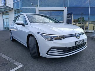 2021 Volkswagen Golf 8 MY21 110TSI Pure White 6 Speed Manual Hatchback.