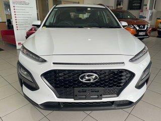 2019 Hyundai Kona OS.3 MY20 Go 2WD Chalk White 6 Speed Sports Automatic Wagon.