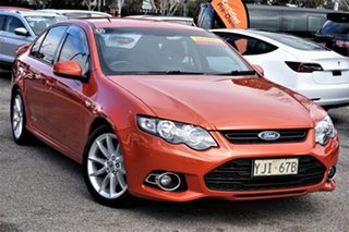 2013 Ford Falcon FG MkII XR6 Turbo Orange 6 Speed Sports Automatic Sedan.