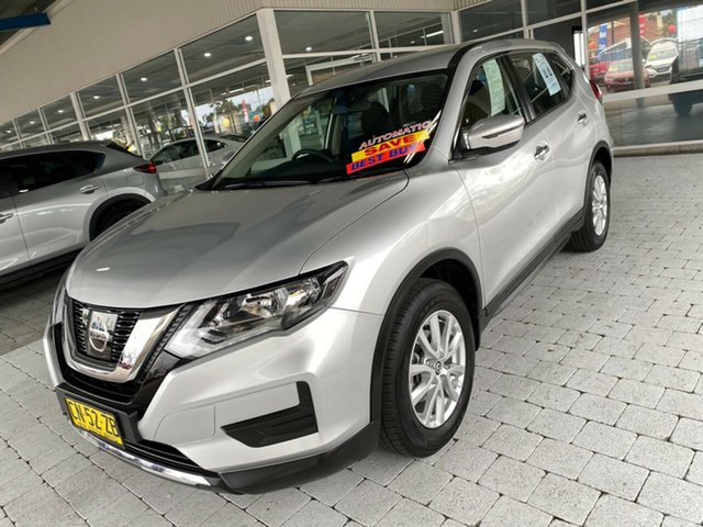 Used Nissan X-Trail ST Taree, 2017 Nissan X-Trail ST Silver Constant Variable Wagon