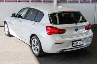 2017 BMW 118i F20 LCI MY17 Sport Line White 8 Speed Automatic Hatchback.