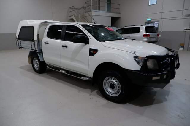Used Ford Ranger PX XL Kenwick, 2015 Ford Ranger PX XL White 6 Speed Sports Automatic Cab Chassis