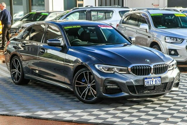 Used BMW 3 Series G20 330i Steptronic M Sport Attadale, 2019 BMW 3 Series G20 330i Steptronic M Sport Grey 8 Speed Sports Automatic Sedan