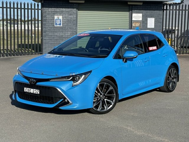 Used Toyota Corolla Mzea12R ZR Newcastle, 2019 Toyota Corolla Mzea12R ZR Blue 10 Speed Constant Variable Hatchback