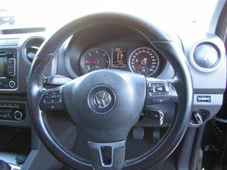 2014 Volkswagen Amarok 2H MY15 TDI400 4MOT Dark Label Black 6 Speed Manual Utility