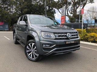 2021 Volkswagen Amarok 2H MY21 TDI580 4MOTION Perm Aventura Grey 8 Speed Automatic Utility.