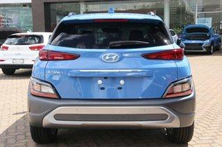 2021 Hyundai Kona Os.v4 MY21 Elite 2WD Dive in Jeju 8 Speed Constant Variable Wagon