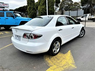 2007 Mazda 6 GG1032 Classic White 5 Speed Sports Automatic Sedan.