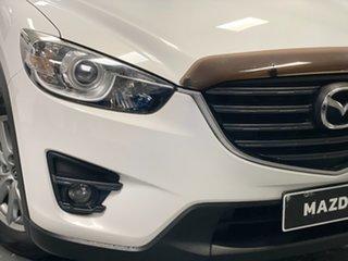 2016 Mazda CX-5 KE1032 Maxx SKYACTIV-Drive AWD Sport White 6 Speed Sports Automatic Wagon.