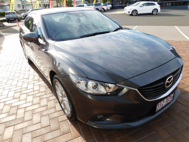 Used Mazda 6 GL1031 Sport SKYACTIV-Drive Toowoomba, 2016 Mazda 6 GL1031 Sport SKYACTIV-Drive Grey 6 Speed Sports Automatic Wagon