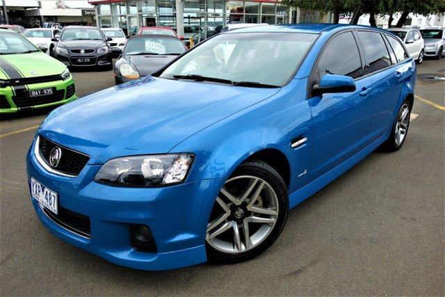 Used Holden Commodore VE II MY12 SV6 Sportwagon Seaford, 2012 Holden Commodore VE II MY12 SV6 Sportwagon Blue 6 Speed Sports Automatic Wagon