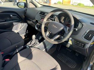 2015 Kia Rio UB MY15 S Grey 4 Speed Automatic Hatchback