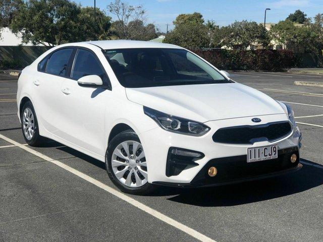 Used Kia Cerato BD MY20 SI Chermside, 2019 Kia Cerato BD MY20 SI White 6 Speed Sports Automatic Sedan